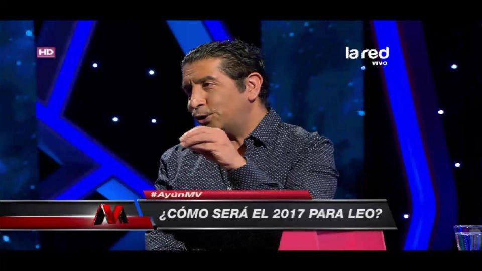 Alejandro Ayún revisó el horóscopo signo...