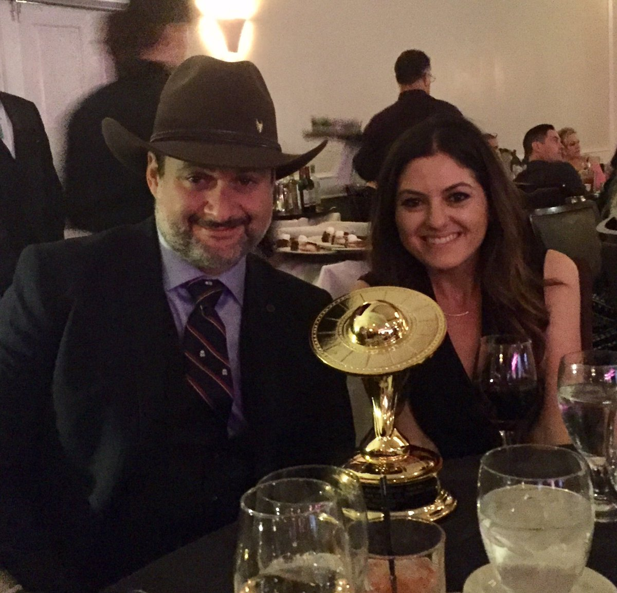 Wow!! @starwars Rebels!!  #SaturnAwards @dave_filoni @carrieannebeck @...