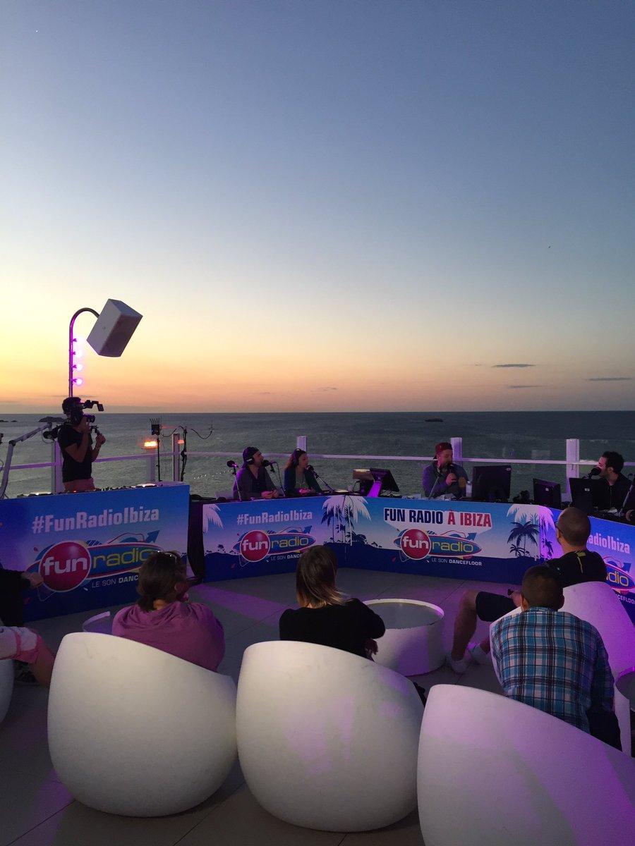 Suivez l'émission de @BRUNOFUNRADIO à Ibiza sur https://t.co/3O5XOgJ1j...