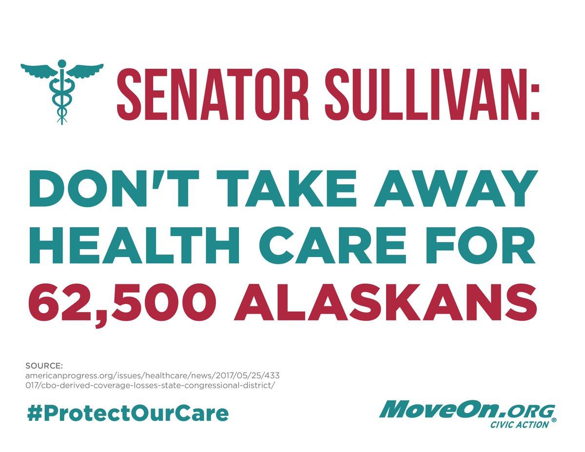 .@SenDanSullivan #ProtectOurCare. Do not...