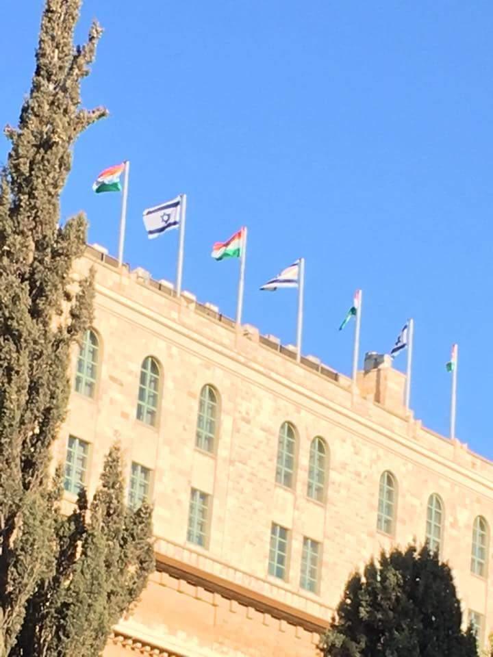 Israel gets ready to welcome Prime Minister @narendramodi. King David Hotel, Jerusalem #Israel #ModiInIsrael<br>http://pic.twitter.com/QWao4tTFTi