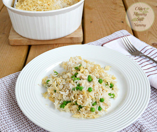 Simple & Quick to Make ~ Tuna Rice Casserole
