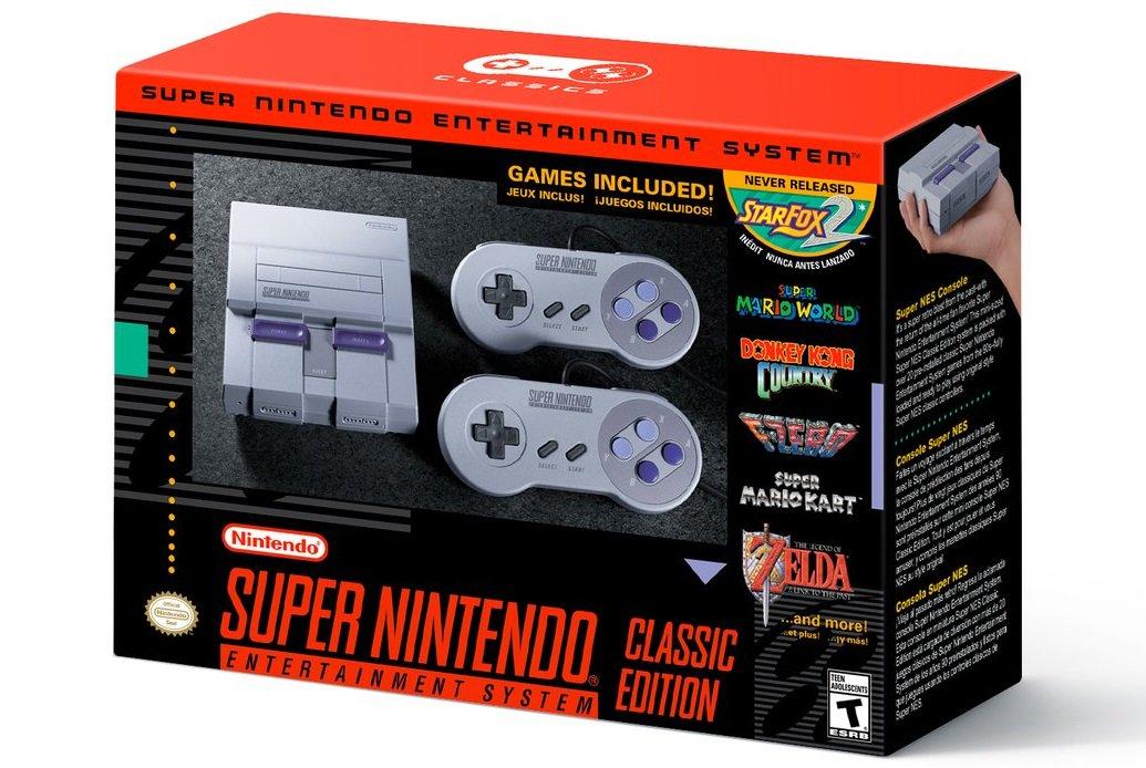 La Super Nintendo Classic llegará en septiembre con 20 juegos retro, i...