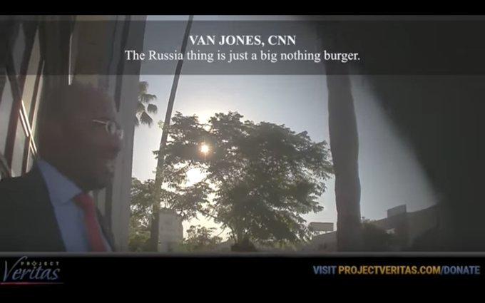 Undercover video shows CNN's Van Jones calling Russia story a 'nothingburger' https://t.co/iLRuYdpMAf