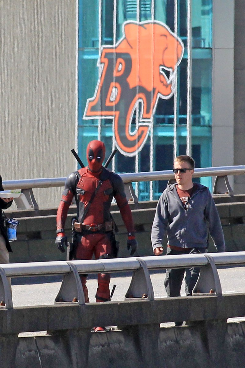 #Deadpool2 IN #Vancouver @BCLions @CFL #Movies #RyanReynolds 🇨🇦 https:...