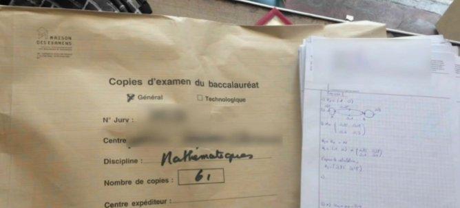 Info LCI - Bac : les 61 copies de maths volées retrouvées (trop tard) dans un bar à Paris https://t.co/bEuEwmMjLc