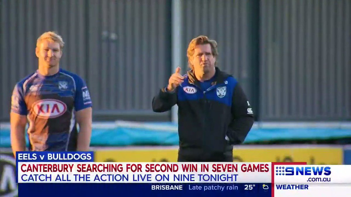 The @NRL_Bulldogs are out to beat @TheParraEels in TONIGHT'S clash. #N...
