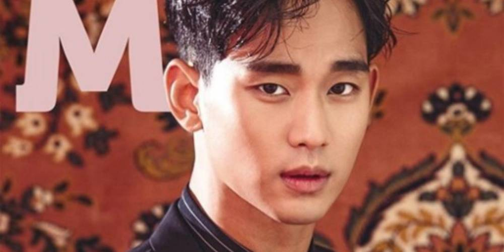 Kim Soo Hyun demonstrates his real manly side for 'Magazine M' https:/...