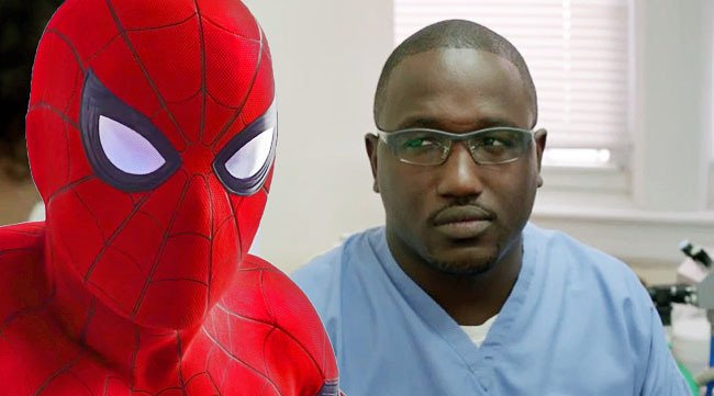 Hannibal Buress sent his own double to the premiere of #SpiderManHomec...