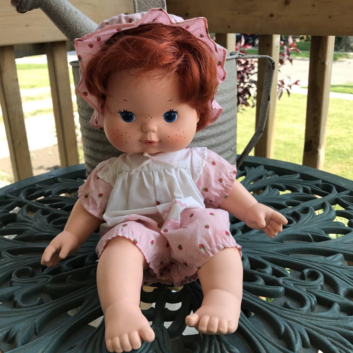 1982 American Greetings Corp. Strawberry Shortcake 14 Inch Doll Pink Jumpe…  http:// tuppu.net/e98160ac  &nbsp;   #Etsy #Nostalgia<br>http://pic.twitter.com/VvVa9p2abe