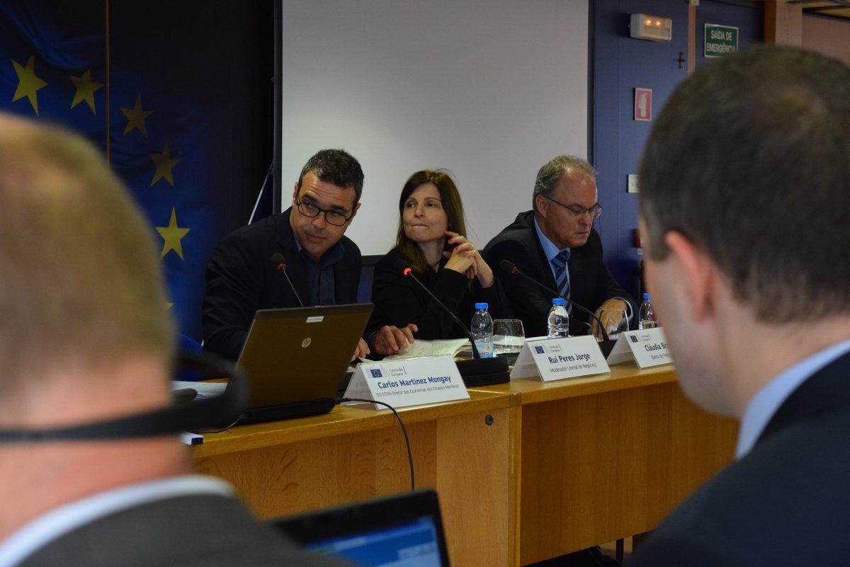 A moderação do evento #EuropeanSemester está a cargo do jornalista Rui Peres Jorge, do @JNegocios. #CSRs