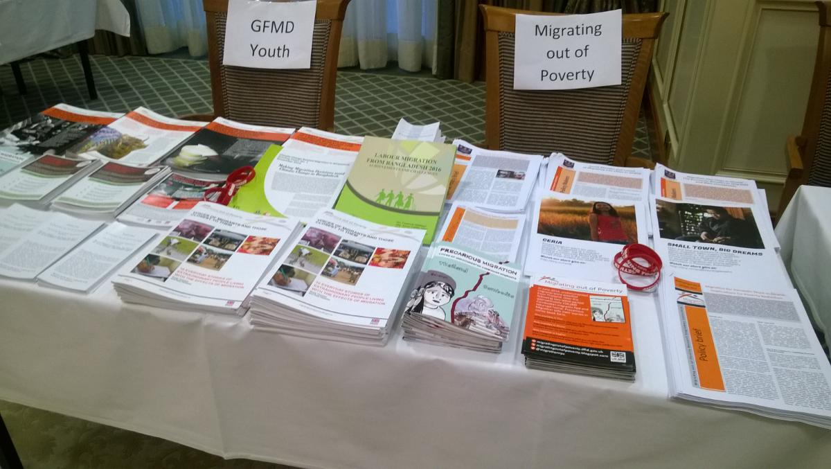 To access some of our work on #migration in Asia and Africa at the #GFMD_CSD, visit our @MigrationRPC display table https://t.co/KKh8mUMML1