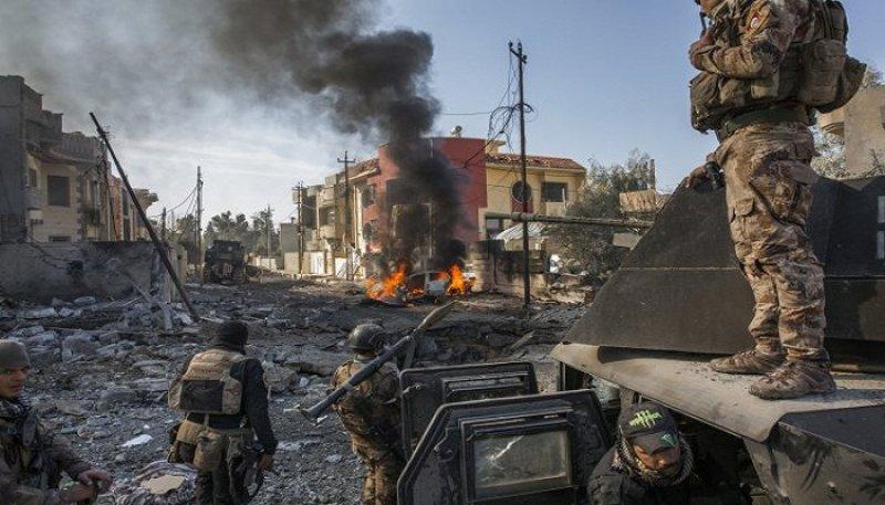 القوات العراقية تقترب من السيطرة الكاملة على منطقة الخاتونية بـ #الموص...