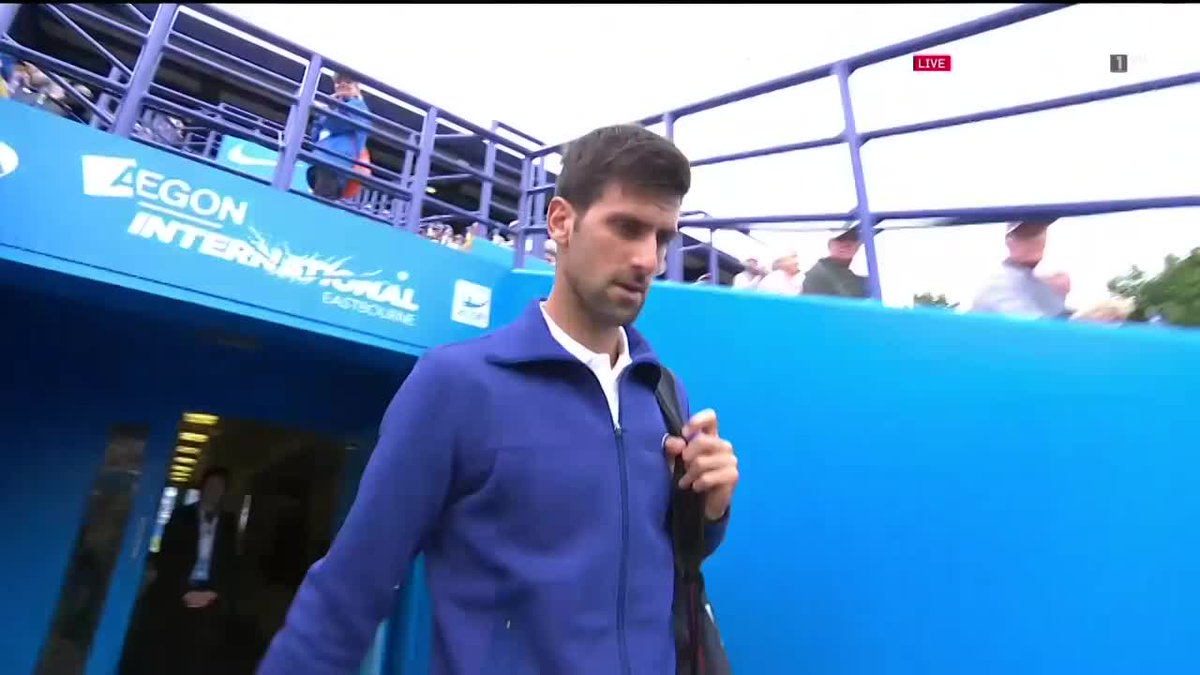 Novak Djokovic is ready for his match against Donald Young live on Eur...