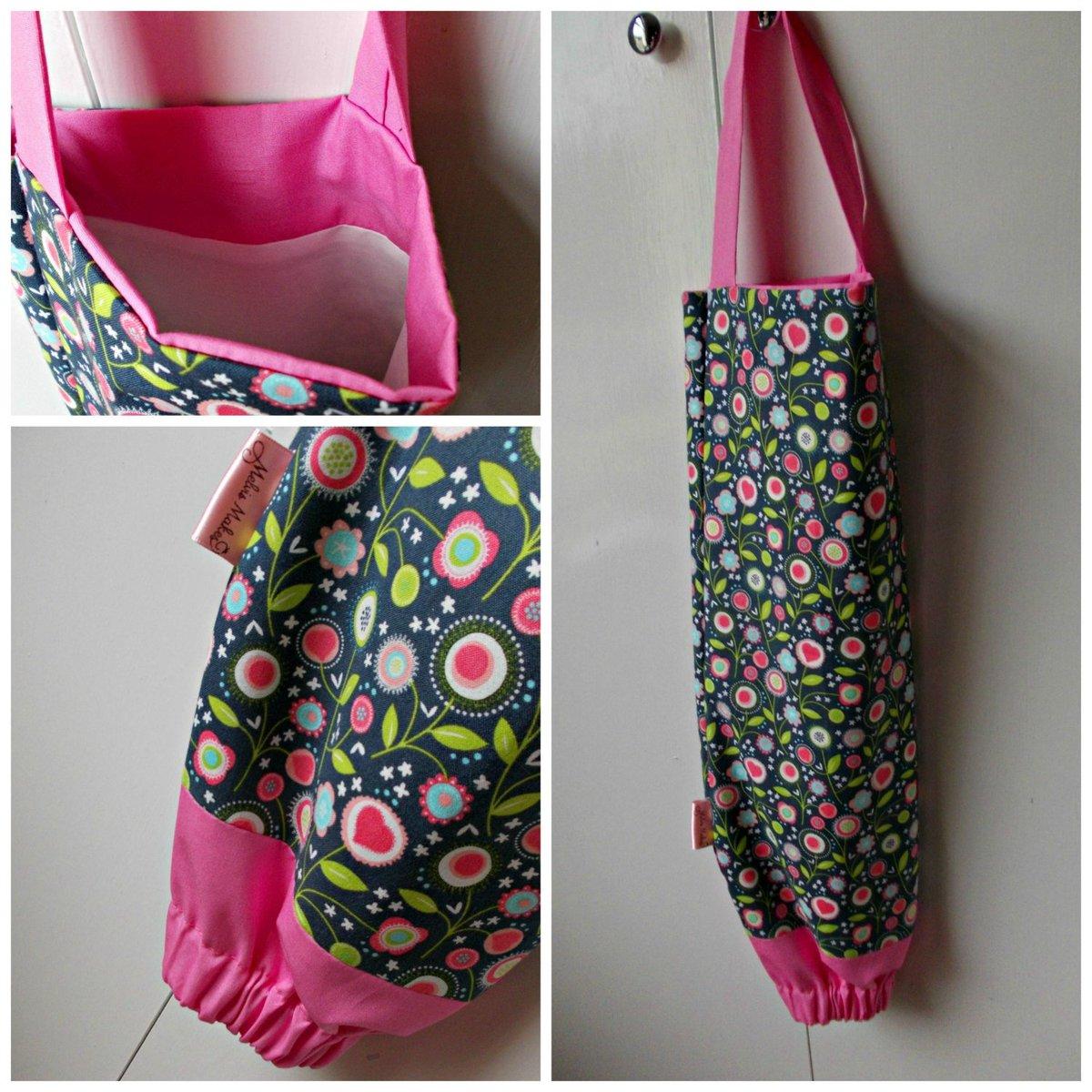 Grey Love Flowers Grocery Bag Holder, Carrier Bag Organiser, Plastic Ba…  http:// tuppu.net/74e78693  &nbsp;   #Etsy #BagDispenser<br>http://pic.twitter.com/FTelYJhphH