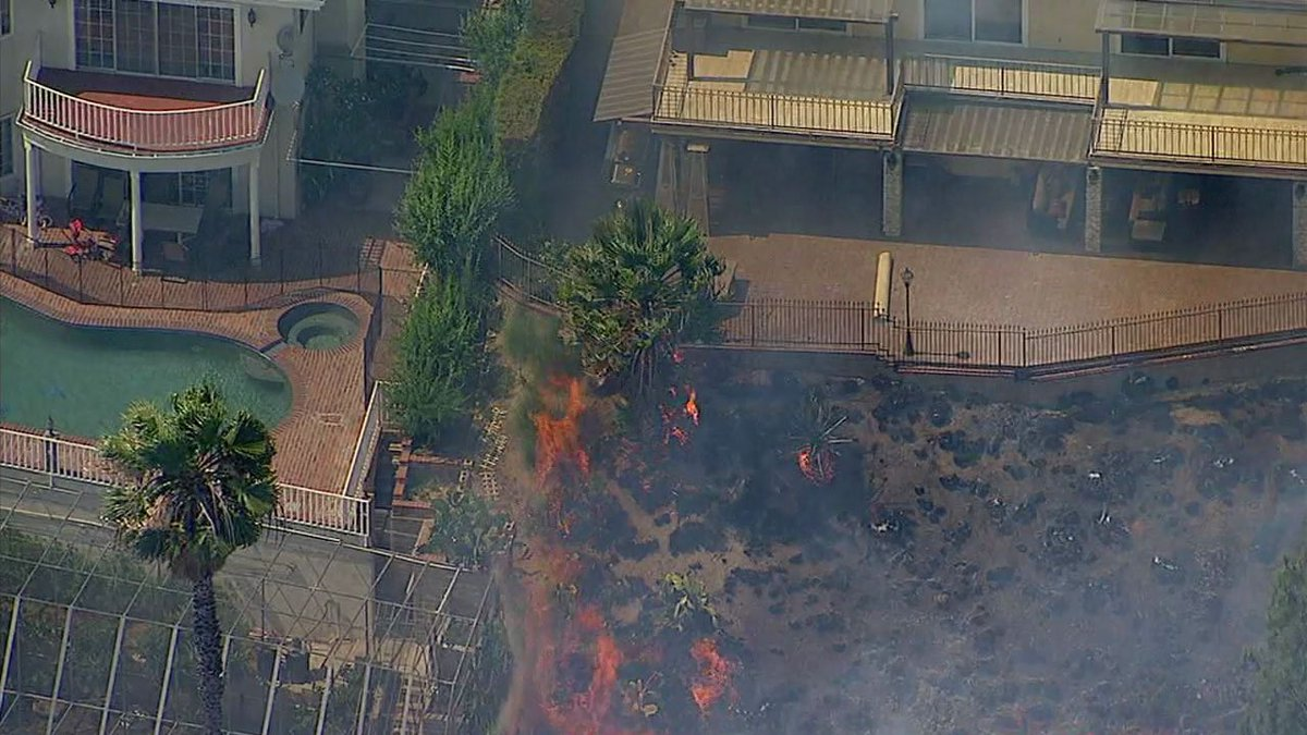 Evacuation orders ended as Burbank brush fire is 80 percent contained...