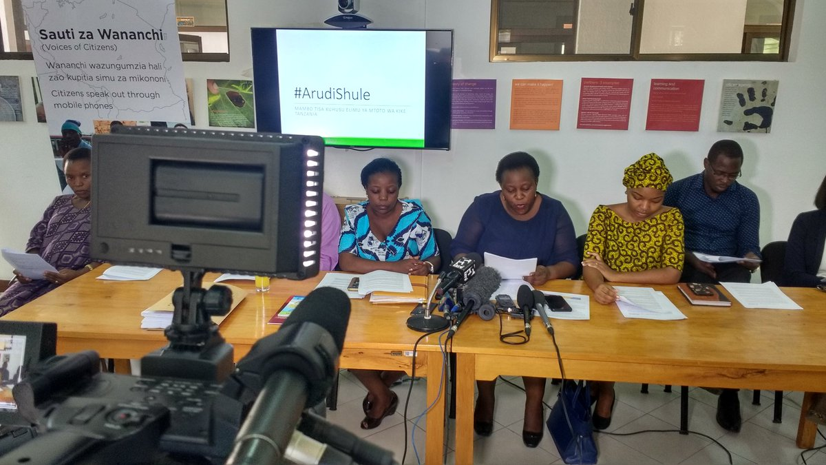 Coalition of NGOs calls on #Tanzania President to reconsider expelling pregnant girls from school. <br>http://pic.twitter.com/DveVVz6gMn