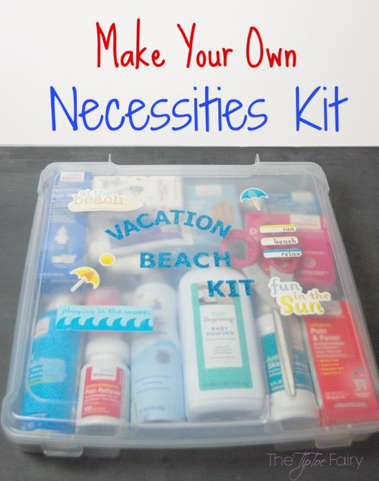 Create a Health and Wellness Necessity Kit