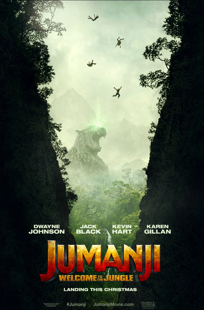 You don't just play Jumanji, Jumanji plays you. Find out how in the ne...