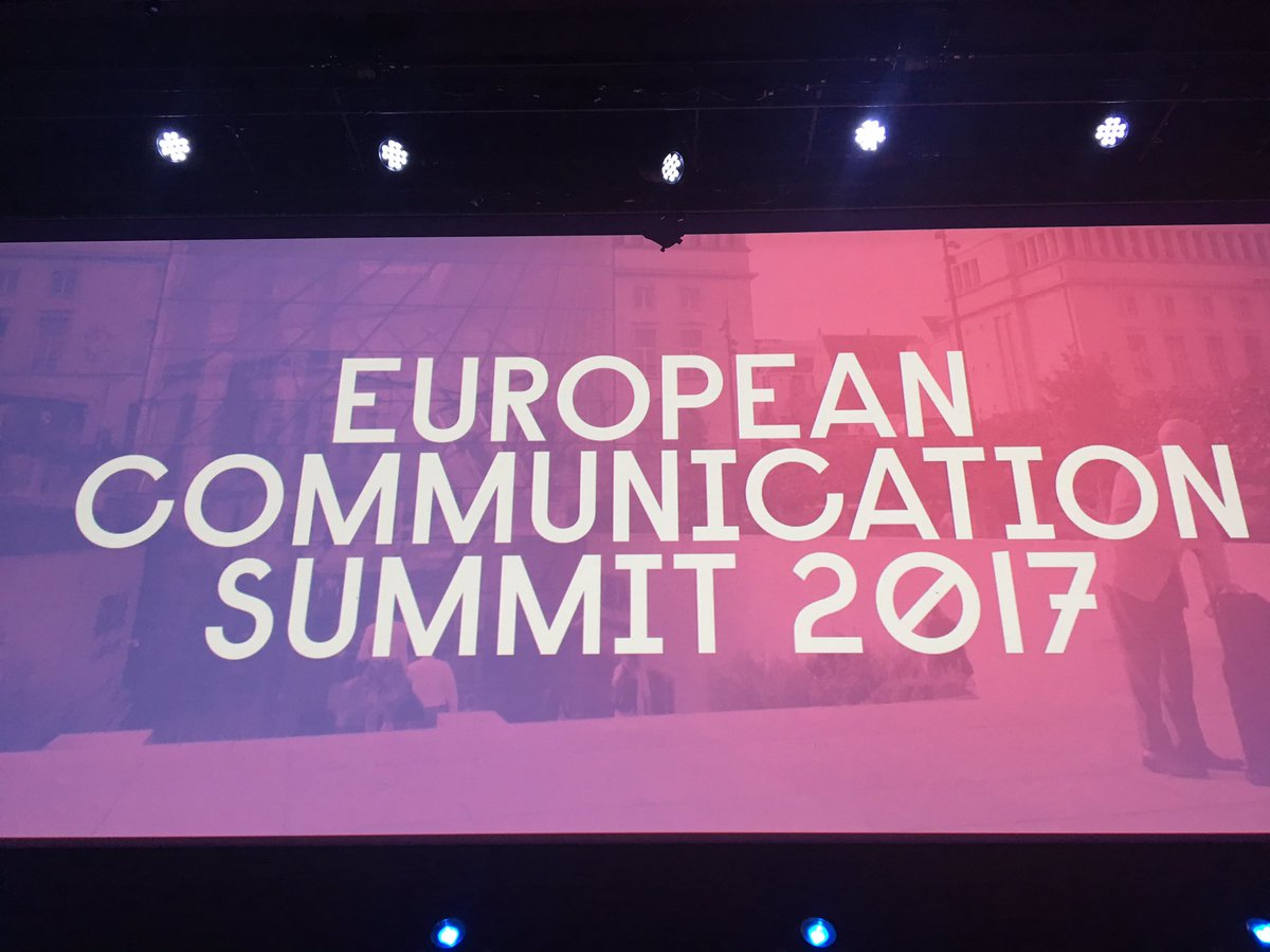Very excited to be part of this wonderful #communications community for the next two days exploring #collaboration &amp; new #connections #ECS17 <br>http://pic.twitter.com/NHiuL8Kono