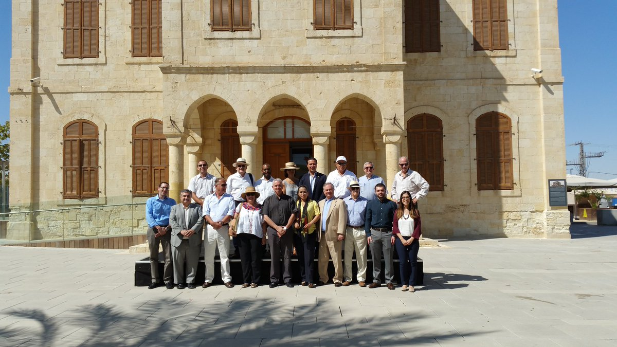 Honorable Latin Ambassadors tour to the Carasso #ScienceMuseum  in #Beersheba Organized by the Latin Am&amp;Car division @IsraelMFA  #Israel <br>http://pic.twitter.com/zU4kT8lGY9