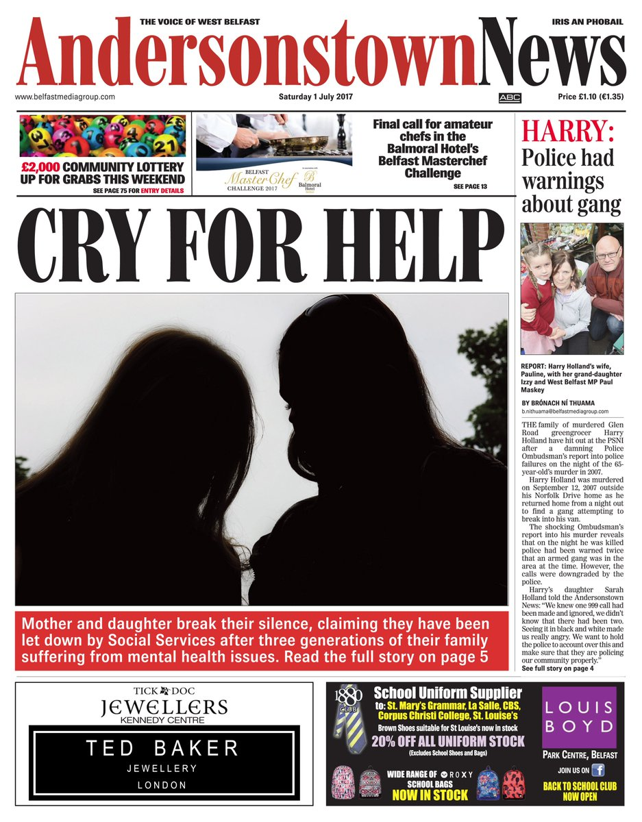 This week&#39;s @ATownNews is now on sale. Keeping it #Local with News/Sport/Opinion/Notices/Jobs/Ents 2-Page #PG special in there as well.<br>http://pic.twitter.com/DBPRCy3Npu