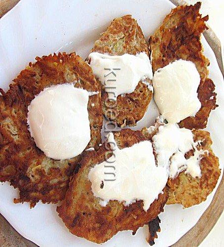 Вкусные драники из картошки рецепт с фото