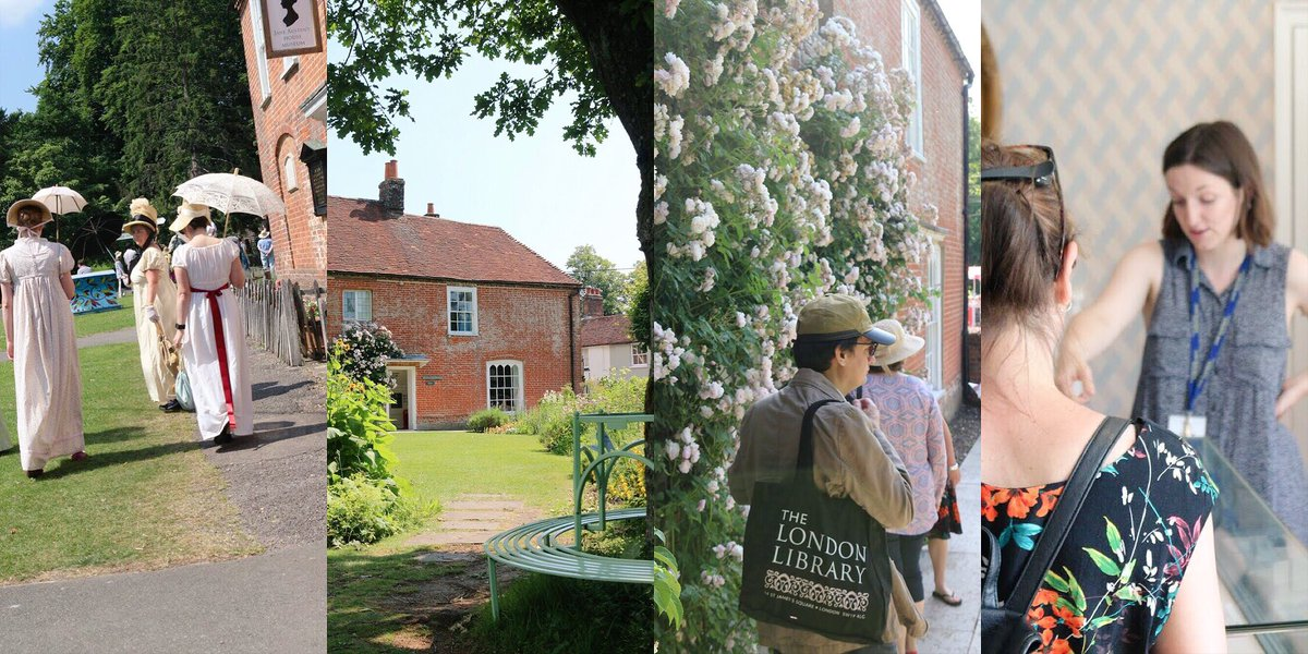Follow in Jane #Austen's footsteps: @JaneAustenHouse & then visit us at the 'Great House' belonging to brother Edward #janeausten200