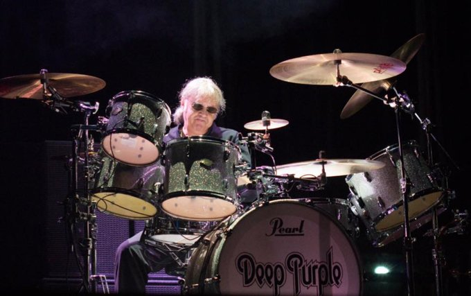 Happy 69th birthday to my musical hero (and Baked in Belfast product taster) Ian Paice.