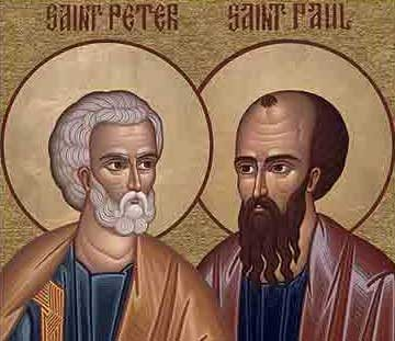 Today is the Feast of Saints Peter and Paul, Apostles, the day conside...