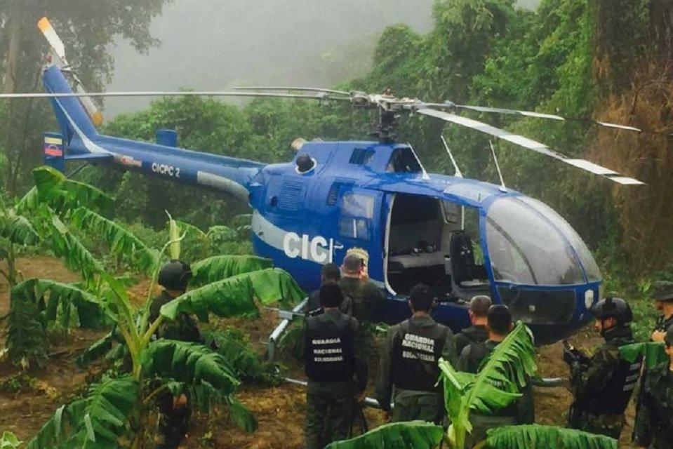 Venezuela'da Yüksek Mahkemeyi bombalayan helikopter bulundu https://t....