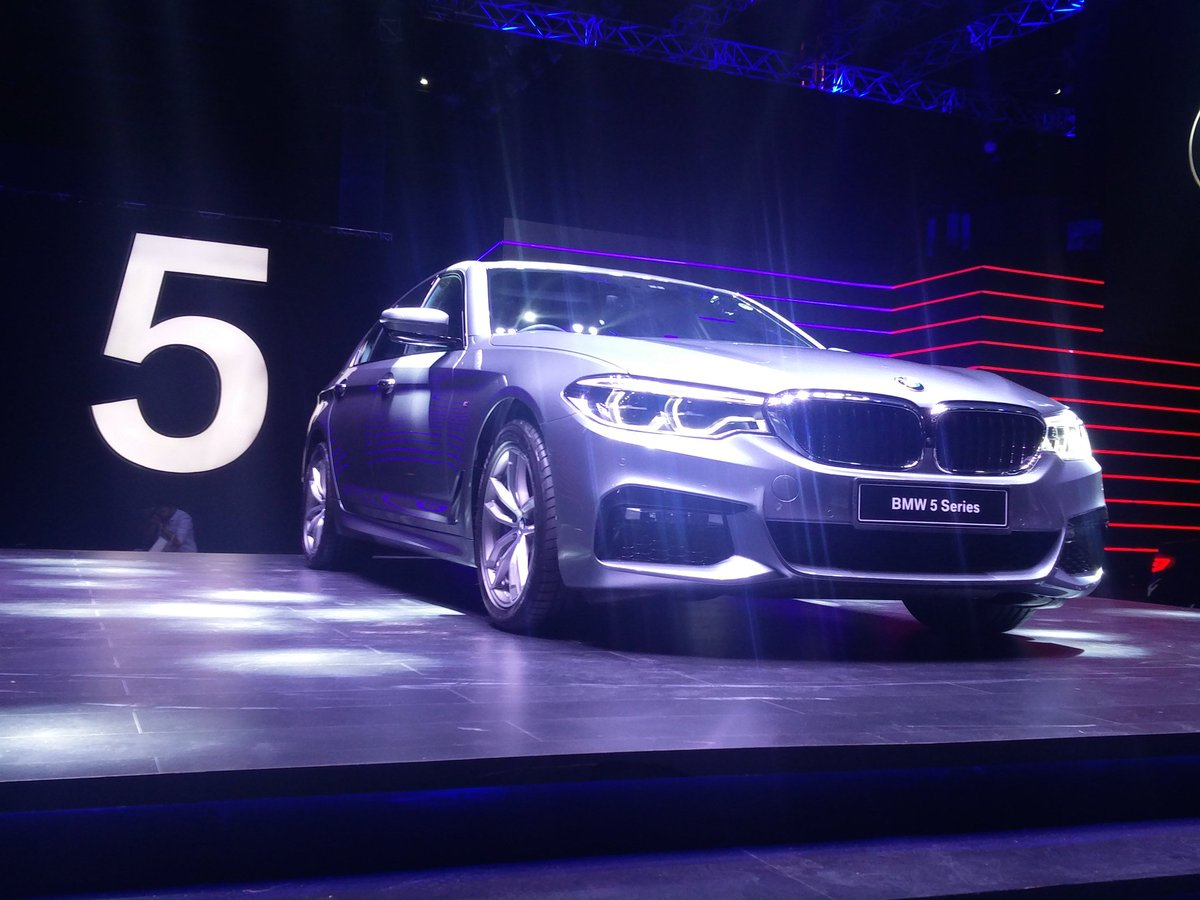 #AllNewBMW5Series launched in India at Rs 49.90lakh, ex-showroom https...