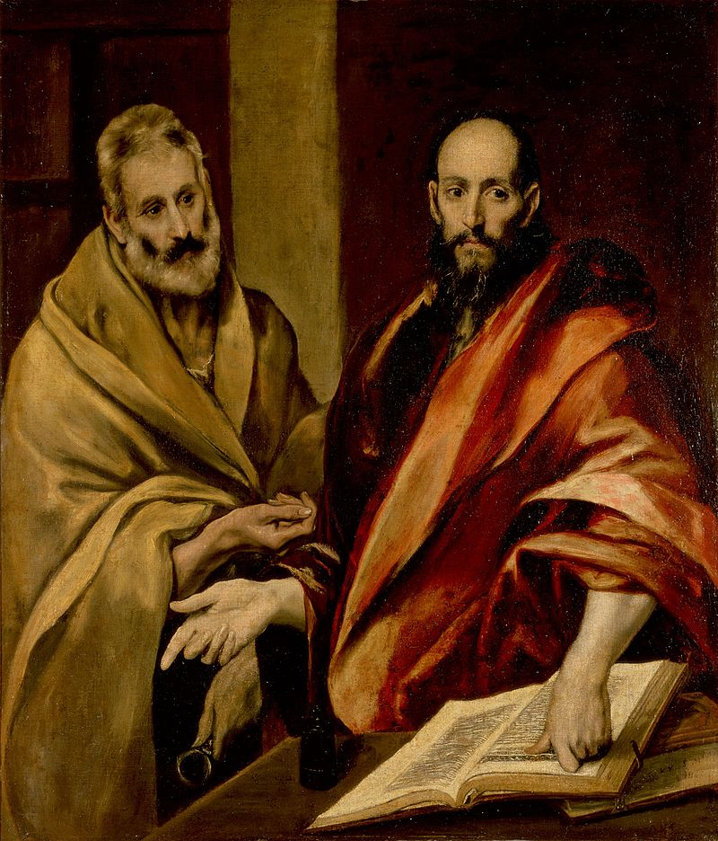 St. Peter and St. Paul, #PrayforUs! #FeastDay https://t.co/GRnOCb81Ce