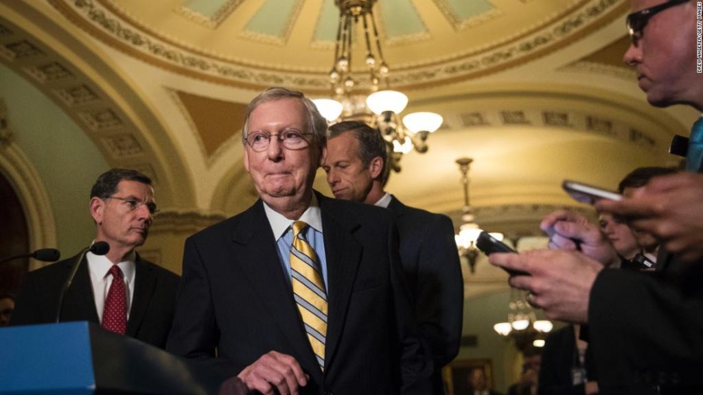 More optimism than progress for the Senate health care bill https://t....
