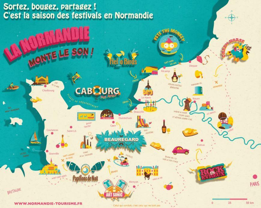 #LaVieEstBelleQuand je vois le nombre de festivals en #Normandie qu'il...