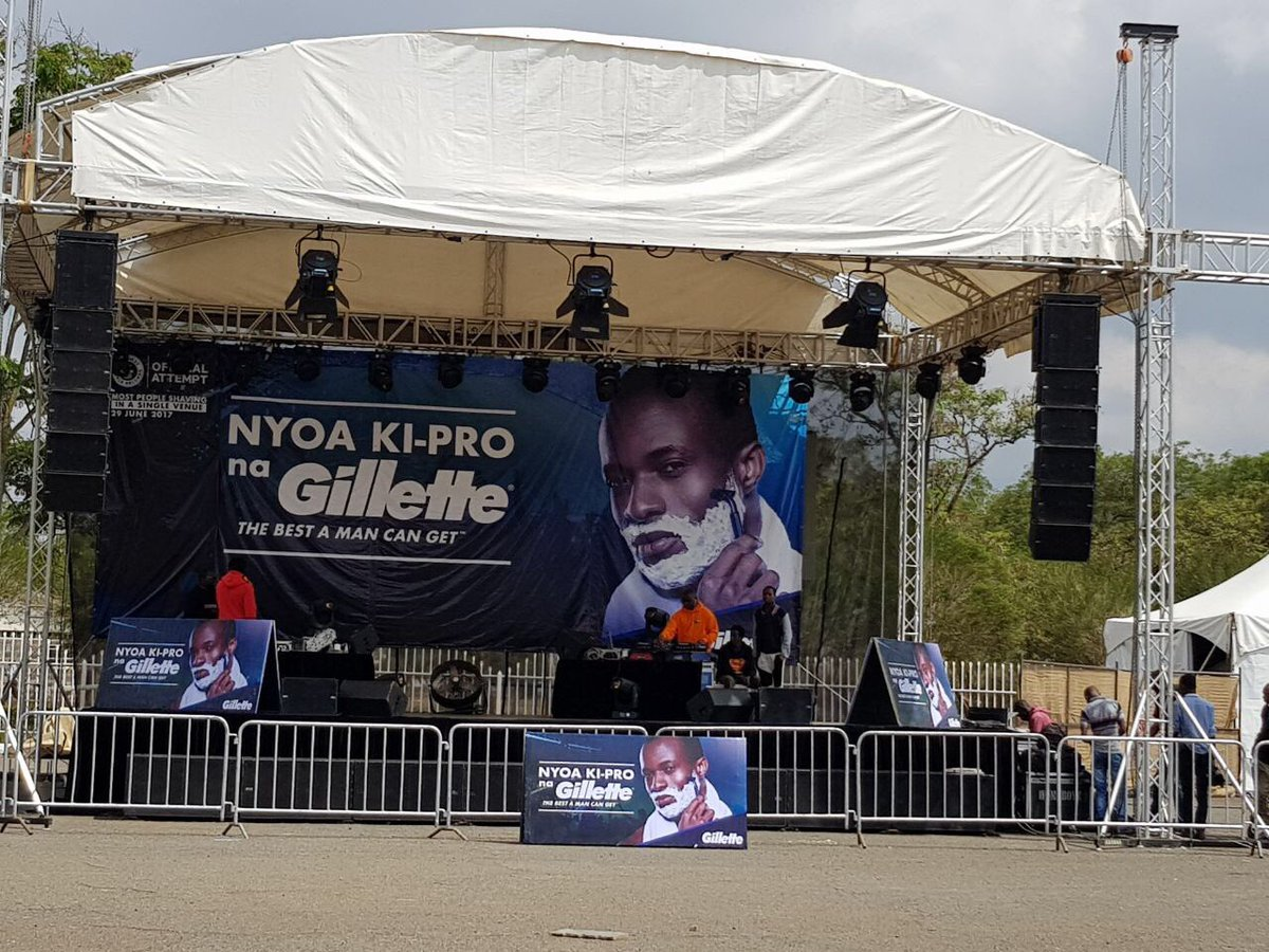 #NyoaKiProWorldRecord is today. Stage is already set.  #NairobiDebate2...
