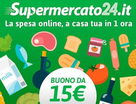 Prova @supermercato24  grazie al buono sconto da 15€ di @GroupaliaIT clicca qui >>https://t.co/Js0g6DyVHx #risparmiacongroupaliaitalia https://t.co/2sRdEFGtZR