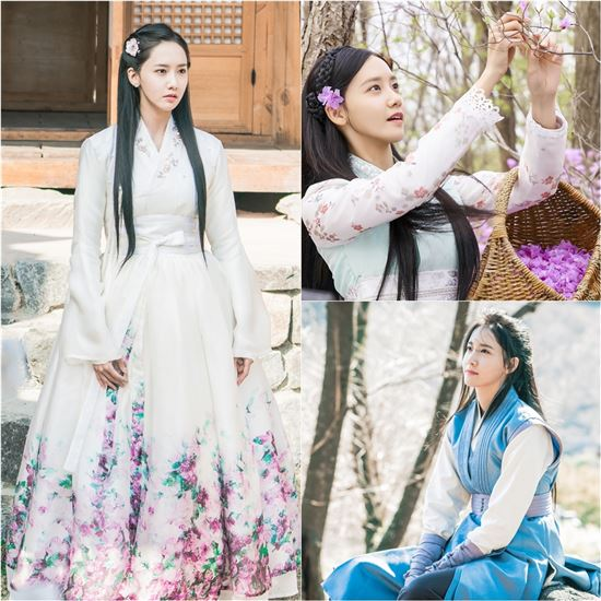 """#YoonA Rocks A Variety Of Traditional Outfits In Latest Stills For """"Th..."""