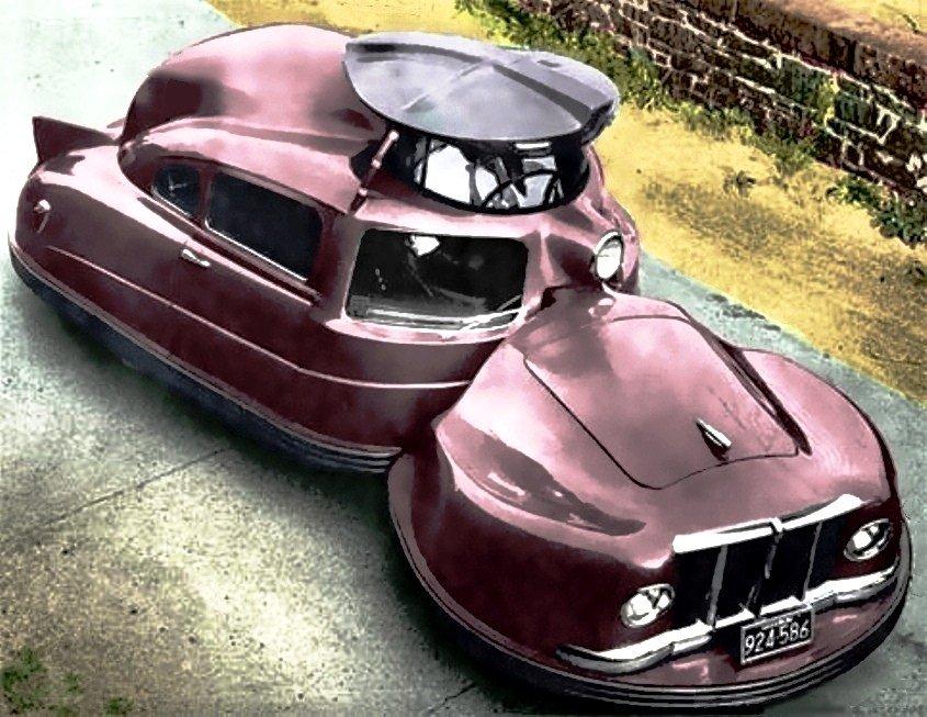 Sir Vival (1958) http://oldconceptcars.com/1930-2004/sir-vival-1958/…