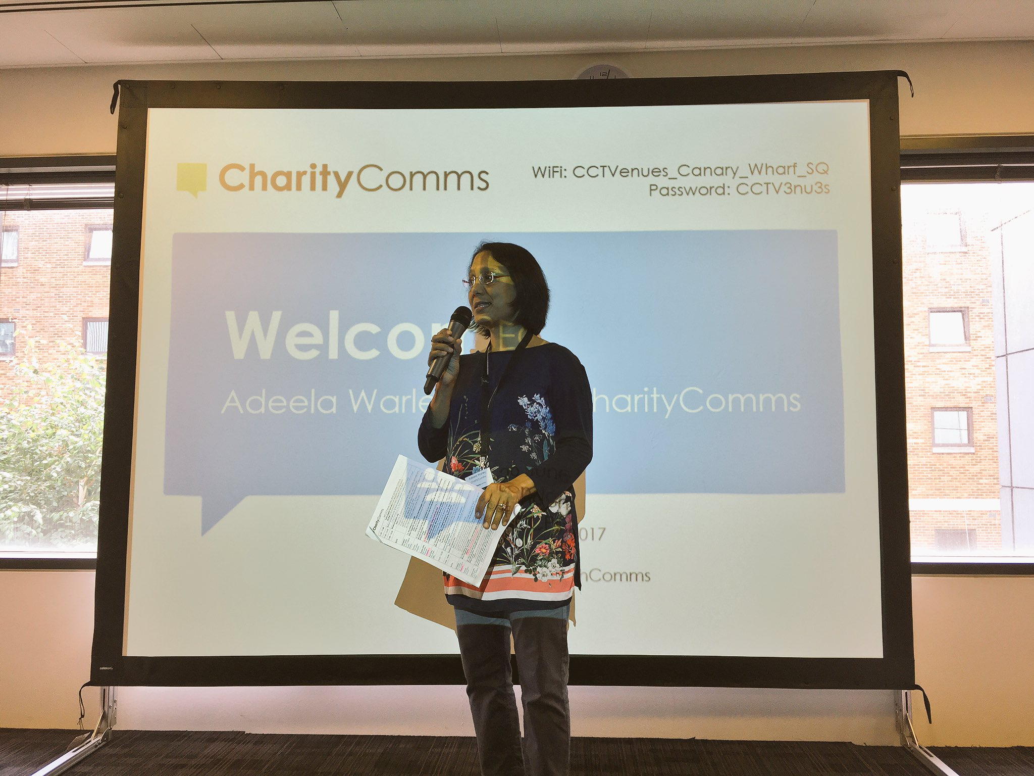 We're kicking off our #CCPsychComms conference with a welcome from our CEO, @adeelawarley https://t.co/J6eev8eu8g