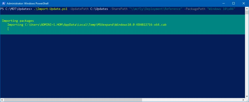 Automatically Download Latest Windows 10 Updates and Import into #MDT with #PowerShell https://t.co/YZLivX8Bks https://t.co/XEhOxCkZkM