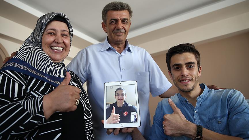 Nur'un başarısı ailesini sevince boğdu https://t.co/1ejz1dytjc https:/...
