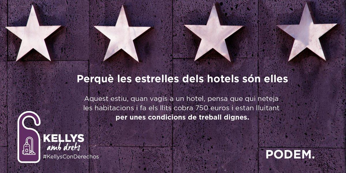 Les Kellys són les veritables estrelles dels hotels. Fem visibles a le...