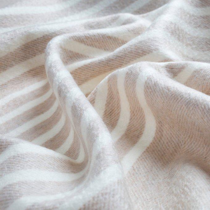 Cashmere Natural Stripe Stole