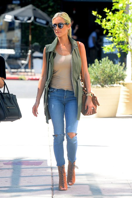 Throwback Thursday: Kristin Cavallari's Utility Vest and Ankle Booties