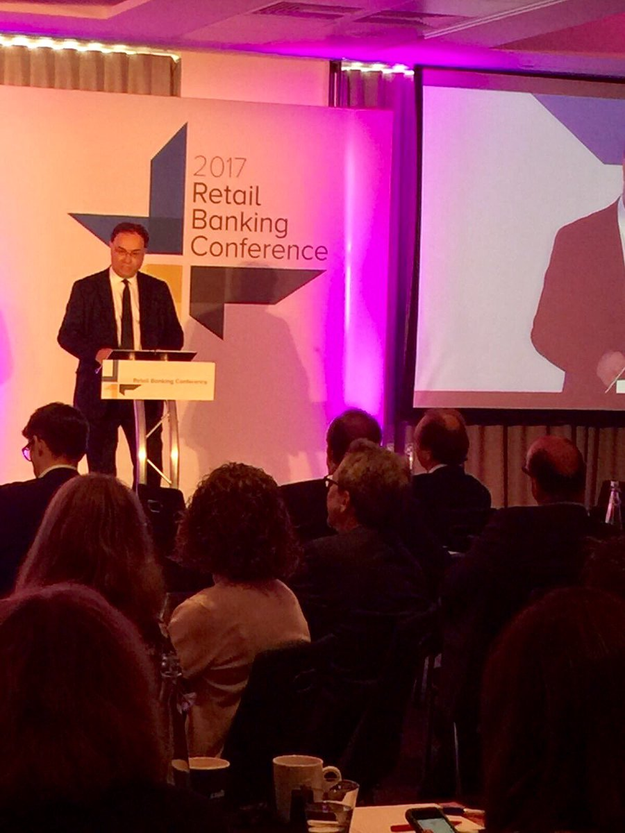 Speech: Andrew Bailey on #retailbanking in the UK - reflections from t...