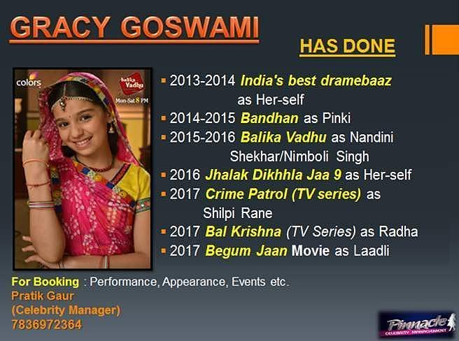 Gracy Goswami on Twitter: