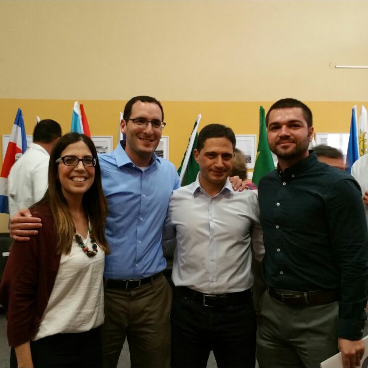 Latin Am&amp;Car Ambassadors in #Israel  and Latin Am&amp;Car div @IsraelMFA had the pleasure of meeting mayor of #BeerSheva, Mr. @RuvikDanilovich<br>http://pic.twitter.com/ev54tHEOgI