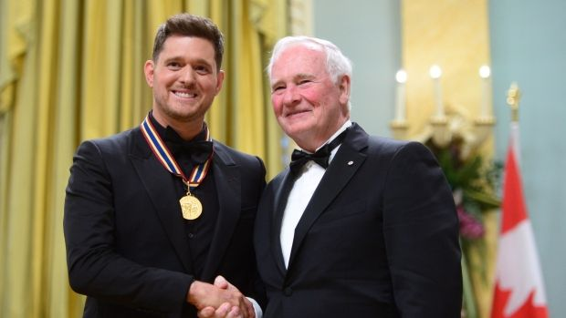 Michael Bublé, Michael J. Fox, Martin Short get Governor General's Per...