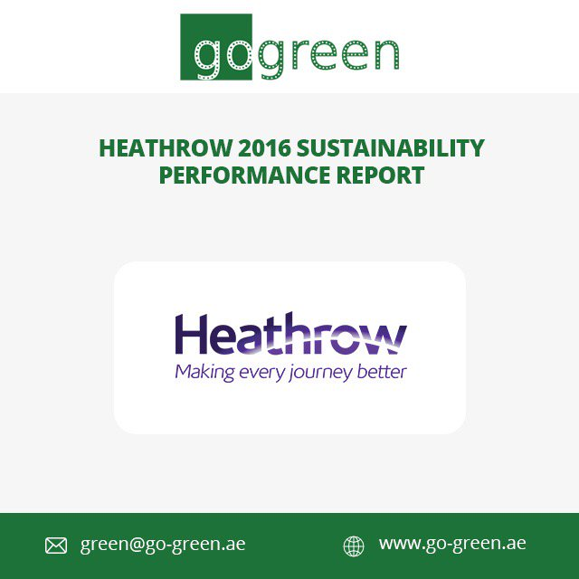 Read all about the Heathrow Sustainability Initiatives at go-green.ae #Heathrow #Sustainability #GoGreen <br>http://pic.twitter.com/GmBBdn5DEW